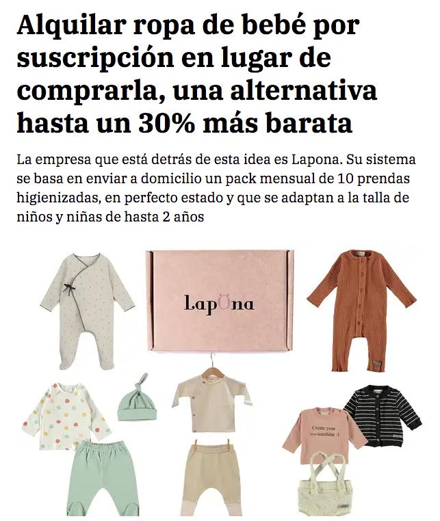 Lapona aparece en el diario de La Razón