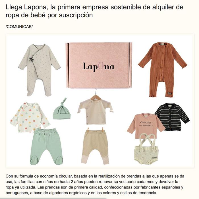 Lapona aparece en el diario de La VOZ de la Empresa